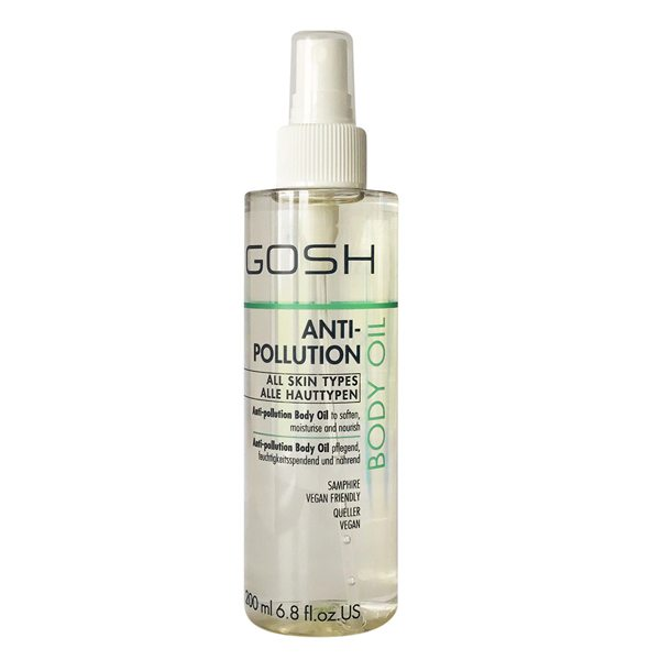 GOSH BODY OIL 200 ML – ANTI POLLUTION